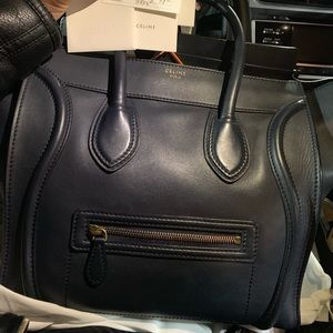 A brand new Celine bag with authentic card